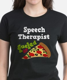 Speech Therapist Funny Pizza Tee