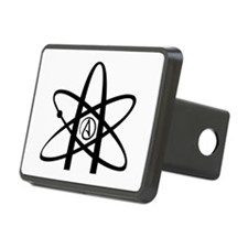 Atheism Symbol Hitch Cover