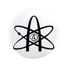 "Atheism Symbol 3.5"" Button (100 pack)"