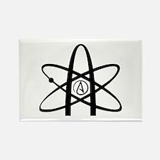 Atheism Symbol Rectangle Magnet