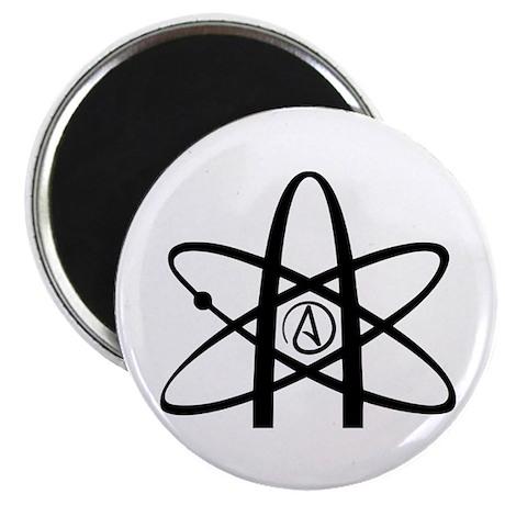 "Atheism Symbol 2.25"" Magnet (10 pack)"