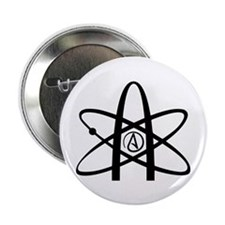 """Atheism Symbol 2.25"""" Button (10 pack)"""