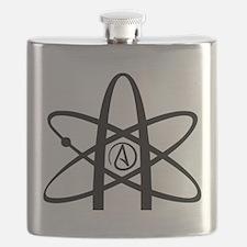 Atheism Symbol Flask