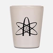 Atheism Symbol Shot Glass