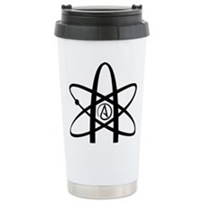 Atheism Symbol Travel Mug