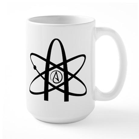 Atheism Symbol Large Mug