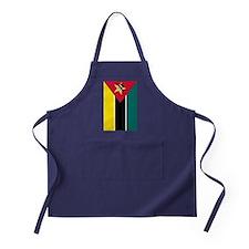 mozambique flag 2 Apron (dark)