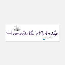 Unique Homebirth Car Magnet 10 x 3