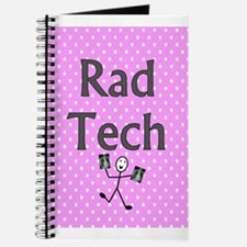 Rad tech tote bag pink polka.PNG Journal