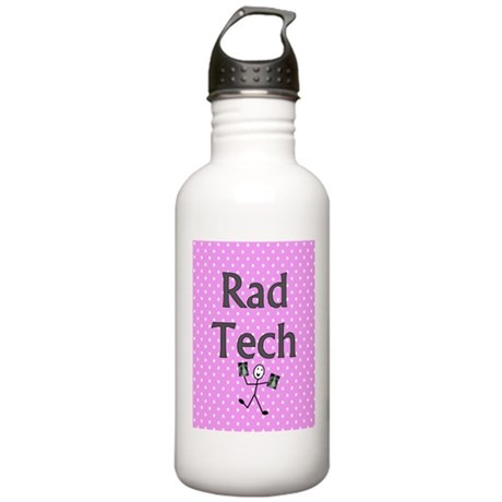 Rad tech tote bag pink polka.PNG Stainless Water B