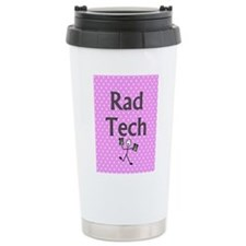 Rad tech tote bag pink polka.PNG Travel Mug