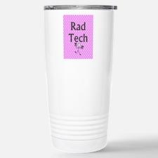 Rad tech tote bag pink polka.PNG Travel Mug