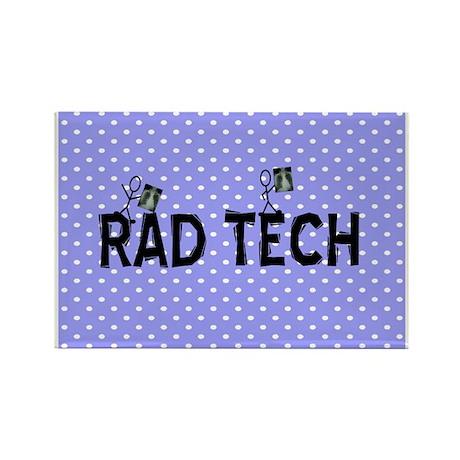 Rad Tech Necklace.PNG Rectangle Magnet