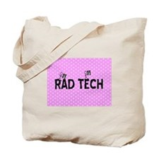 Rad tech necklace pink.PNG Tote Bag