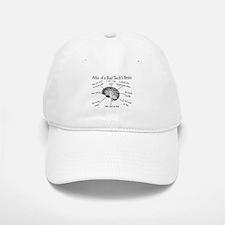 Atlas of a Rad techs brain.PNG Baseball Baseball Cap