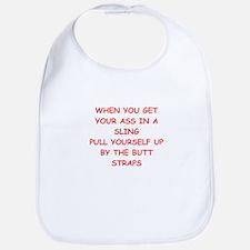 ASS in a sling Bib