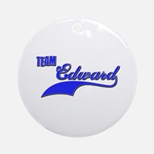 Team Edward Ornament (Round)