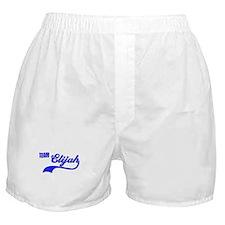 Team Elijah Boxer Shorts