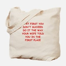 SUCCEED.png Tote Bag