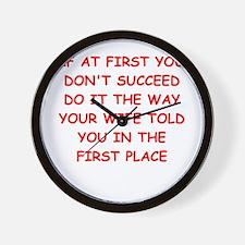 SUCCEED.png Wall Clock