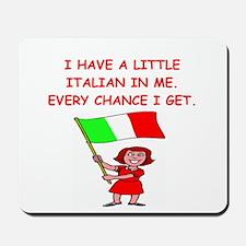 ITALIAN.png Mousepad