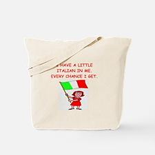 ITALIAN.png Tote Bag