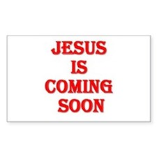 Jesus is coming soon Decal