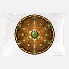 Celtic Shield - Green Chieftain Pillow Case