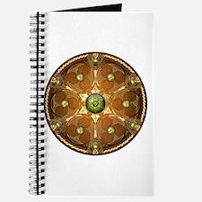 Celtic Shield - Green Chieftain Journal