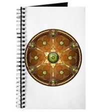 Celtic Shield - Green Chieftain Journal