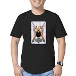 USS PLUNGER Men's Fitted T-Shirt (dark)