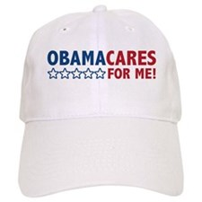 ObamaCares for Me! Baseball Cap