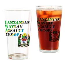 tanzania image Drinking Glass