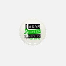 I Wear Green For My Nephew Mini Button (10 pack)