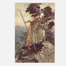 Brunnhilde Postcards (Package of 8)
