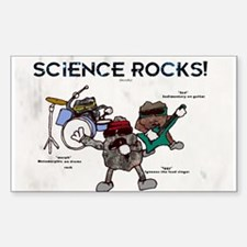 Science Rocks Decal