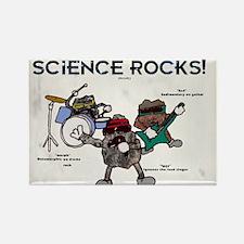 Science Rocks Rectangle Magnet
