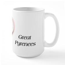 I heart Great Pyr Mug