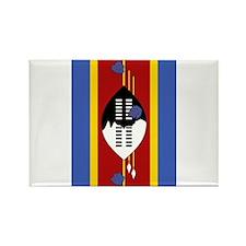 swaziland flag 2 Rectangle Magnet