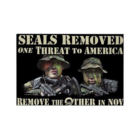 Seals Removed One Threat Rectangle Magnet
