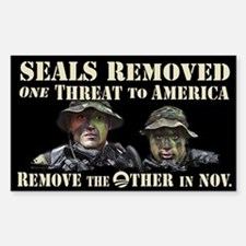 Seals Removed One Threat Decal