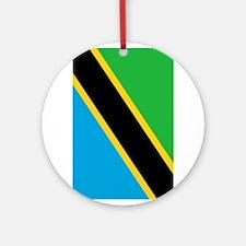 tanzania flag 2 Ornament (Round)
