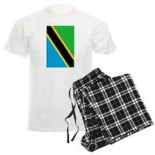 tanzania flag 2 Pajamas