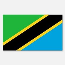 tanzania flag Decal