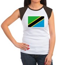 tanzania flag Women's Cap Sleeve T-Shirt
