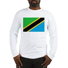 tanzania flag Long Sleeve T-Shirt