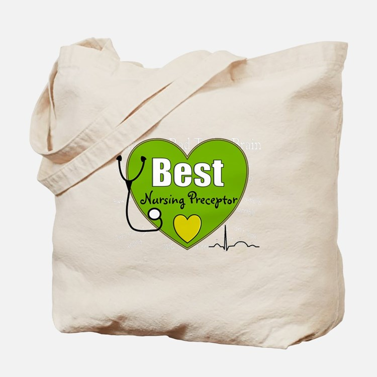 best nursing preceptor green.PNG Tote Bag