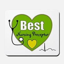 best nursing preceptor green.PNG Mousepad