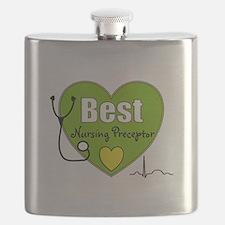 best nursing preceptor green.PNG Flask
