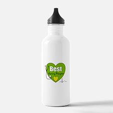 best nursing preceptor green.PNG Water Bottle
